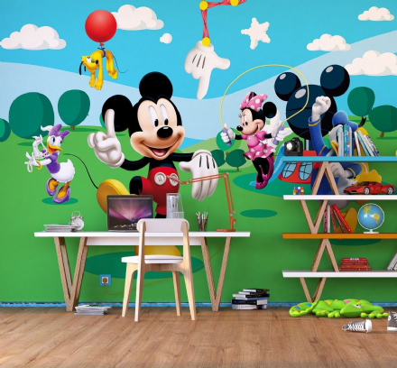 Disney Mickey Mouse Premium wall mural